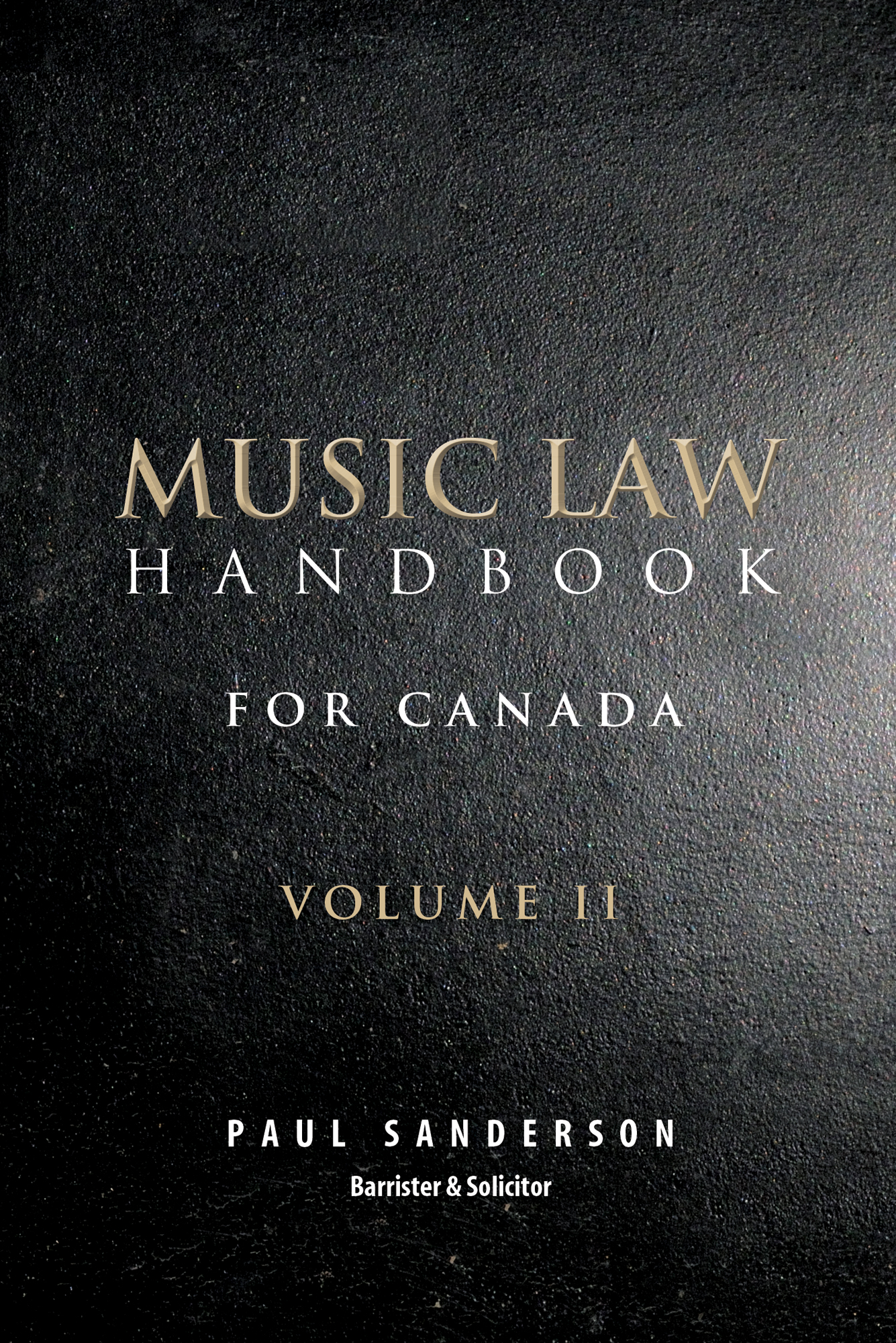 music law_cvr_vol2_paul sanderson