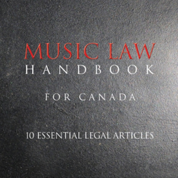 Music Law Handbook for Canada